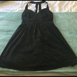 BCBG Cutout black cocktail dress